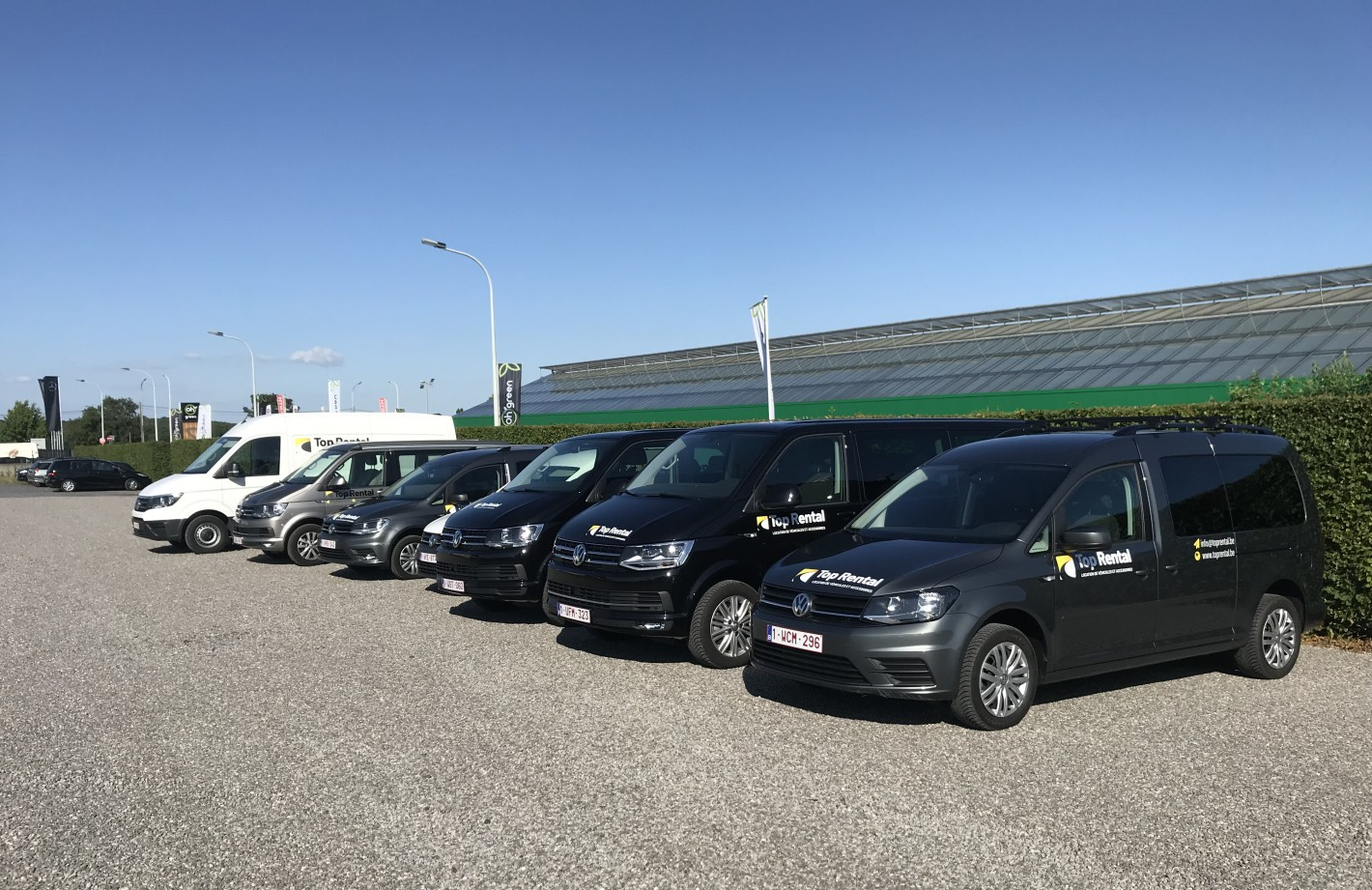 Flotte Top Rental : VW Caddy maxi, Caravelle, California, Crafter à louer